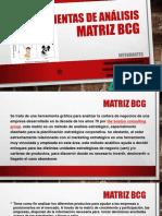Herramientas de Análisis MATRIZ BCG
