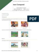 Guía de Pokémon Conquest _ WikiDex _ FANDOM Powered by Wikia