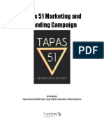tapas 51 marketing and branding campaign
