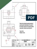 Examen Expresión Gráfica y Diseño Asistido Febrero 2005