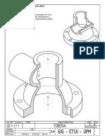 Examen Expresión Gráfica y Diseño Asistido Control Enero 2014