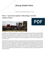 "Part 2 - ""Upon the Prophetic Methodology"" and the Media Universe"