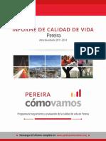 Pereira - Cómo Vamos 2015