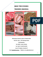 Training Manual-meat Processing Final 2017