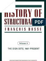 History of Structural Ism the Sign Sets, 1967-Present