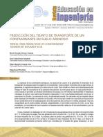 prediccion del tiempo de tranporte de contaminantes en un suelo arenoso.pdf