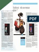 La Libre Belgique - L'intelligence artificielle est-elle une menace pour l'emploi ?