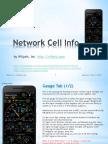 Network Cell Info Manual v2 170308