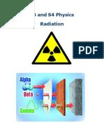 Radiation Summary Notes