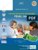Encuesta FESAL 2008 ES