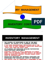 3 - Inventory Control