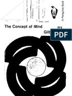 Gilbert Ryle, The Concept of Mind