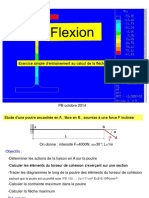Flexion Poutre-