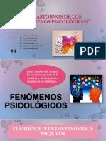 Trastornos de Los Fenómenos Psicológicos