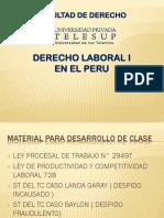 Derecho Laboral i Diapositivas