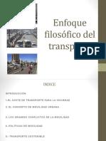 Enfoque Filosofico Del Transporte II