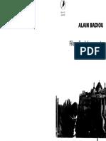 Badiou - Circunstancias y Filosofía