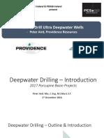 SPE Ireland Deepwater Drilling 1 DEC 2016