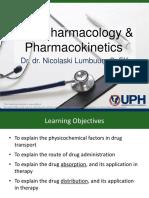 Pharmacology (Dr. Nico)