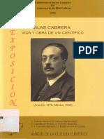 Blas Cabrera. Vida y Obra de un Científico.pdf
