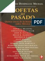 DOMÍNGUEZ, C.M._profetas Del Pasado