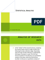 Lecture_Inferential Statistical Analysis