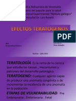 factores teratogenicos