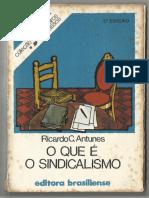 Ricardo Antunes - O que é o sindicalismo.pdf