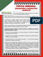 N° 35 - EXPOSICION A PRODUCTOS QUÍMICOS