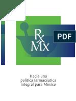 Hacia una política farmacéutica