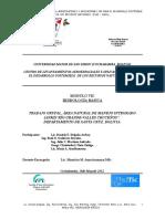 Informe Final Manejo Integrado de Cuencas