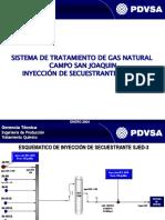 Tratamiento de Gas (Secuestrante h2s) 2004_ 2