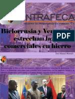 José Manuel Mustafá - Bielorrusia y Venezuela Estrechan Lazos Comerciales en Hierro