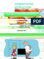 Differentiated Instruction for e f l Learners Withaudio k s a 3 Dec 2012(1)