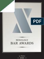 Mixology Bar Awards 2010
