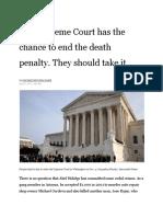 la times death penalty