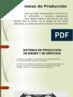 Clasificacion de Los Sistemas de Producción