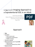 Diagnostic Imaging Approach to a Supratentorial SOL