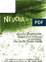 Catalog Expo Master Pictura Anul I