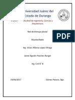 Drenaje Pluvial Palo Blanco Jaime Puentes Rangel