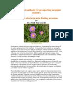 Uranium Prospecting by Geobotanical Methods.