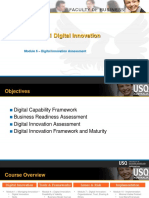 CIS 8011 Module 6 Digital Innovation Assessment
