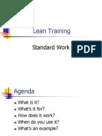 basic standar kerja