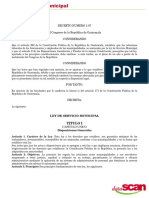 Ley Del Servicio Municipal