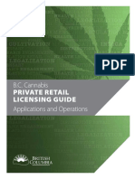Cannabis Private Retail Licensing Guide