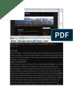 Web Geommorfologia