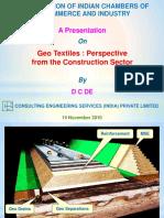 Presentation Geotextile(November 2010)