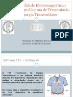 Analise de EMC em Transmissor  de Energia Transcutâneo - Federal SP.pptx