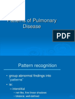 Patterns of Pulmonary Disease