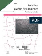 DUPUY El Urbanismo de Las Redes Teorias y Metodos PDF
